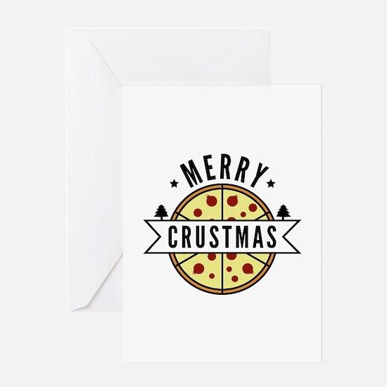 Merry Crustmas Greeting Card