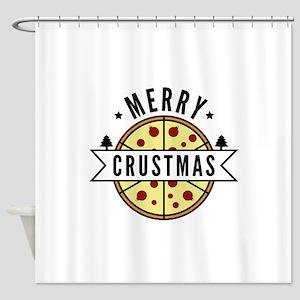 Merry Crustmas Shower Curtain