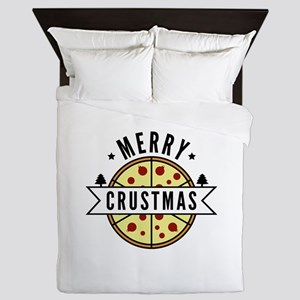 Merry Crustmas Queen Duvet