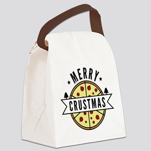 Merry Crustmas Canvas Lunch Bag