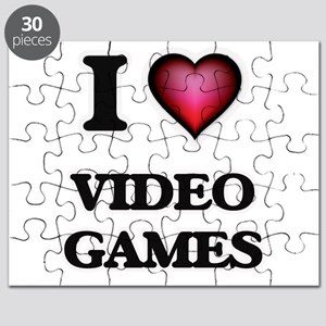 I love Video Games Puzzle