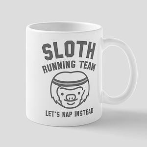Sloth Running Team Mug