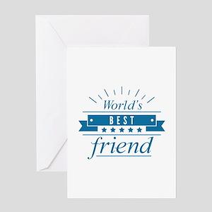 World's Best Friend Greeting Card