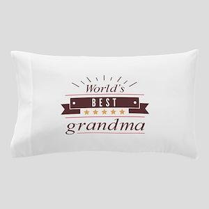 World's Best Grandma Pillow Case