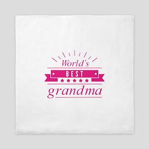 World's Best Grandma Queen Duvet