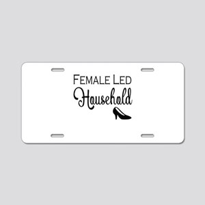 Female Led Household Aluminum License Plate