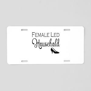 Female Led Household Aluminum License Plate