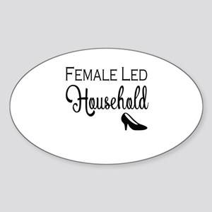 Female Led Household Sticker