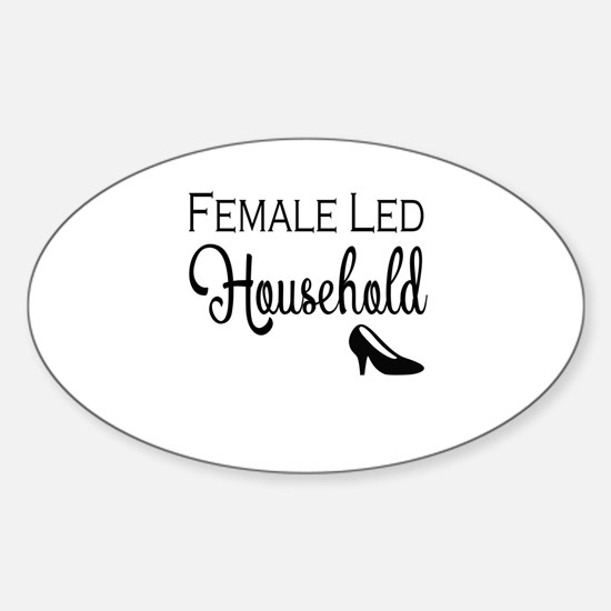 Female Led Household Decal