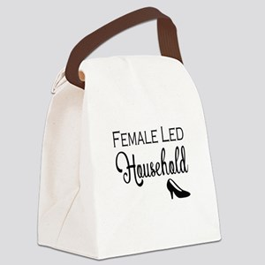 Female Led Household Canvas Lunch Bag