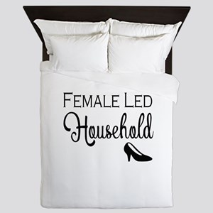 Female Led Household Queen Duvet