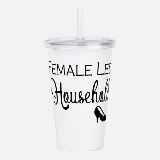 Female Led Household Acrylic Double-wall Tumbler
