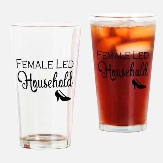 Female Led Household Drinking Glass
