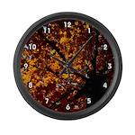 Fall Large Wall Clock