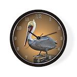 Pelican Wall Clock