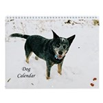 Dog 12 Month Wall Calendar