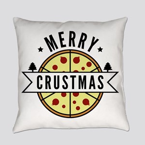 MerryCrustmasPizza2A Everyday Pillow