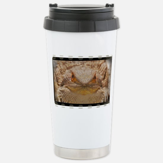 Bearded Dragon (OF) Stainless Steel Travel Mug