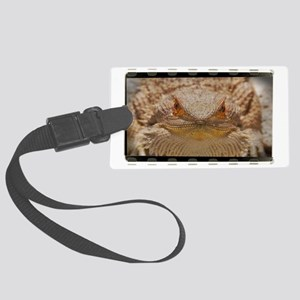 Bearded Dragon (OF) Large Luggage Tag