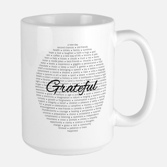 Grateful For... Mugs