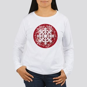 Let It Snow Design Long Sleeve T-Shirt
