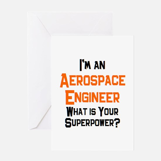 aerospace engineer Greeting Card