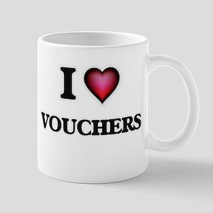 I love Vouchers Mugs