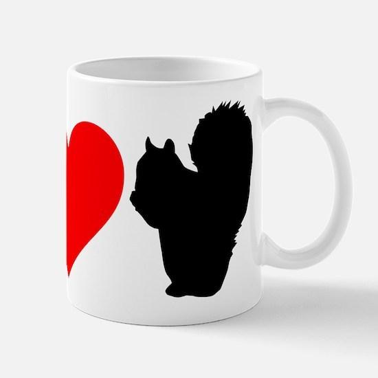 I Heart Squirrels Mug