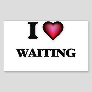 I love Waiting Sticker