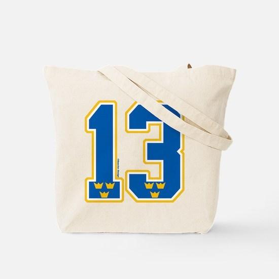 SE Sweden(Sverige) Hockey 13 Tote Bag