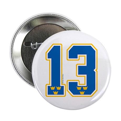 """SE Sweden(Sverige) Hockey 13 2.25"""" Button (10 pack"""