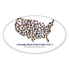 I Am Black History Usa Decal