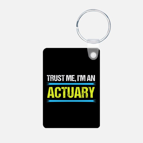 Actuary Humor Keychains