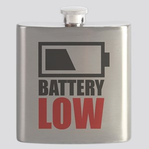 Battery Low Flask