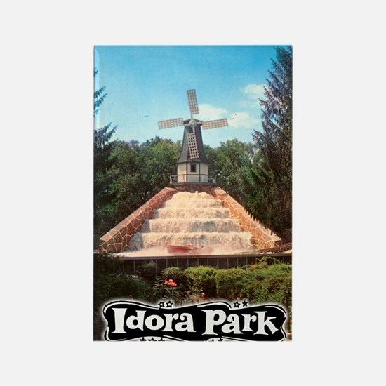 Idora Park Rapids Colle Rectangle Magnet (10 pack)