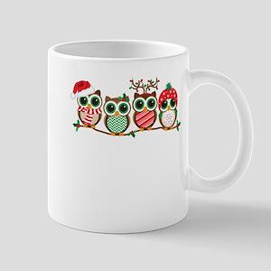 Christmas Owls Mugs