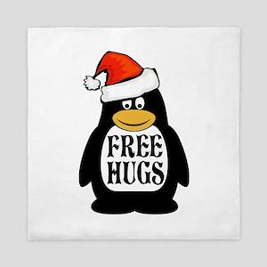 Hugs the Penguin Queen Duvet