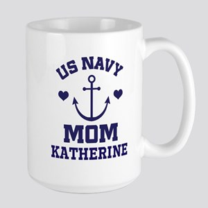 US Navy Mom Personalized Mugs