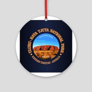 Uluru Round Ornament