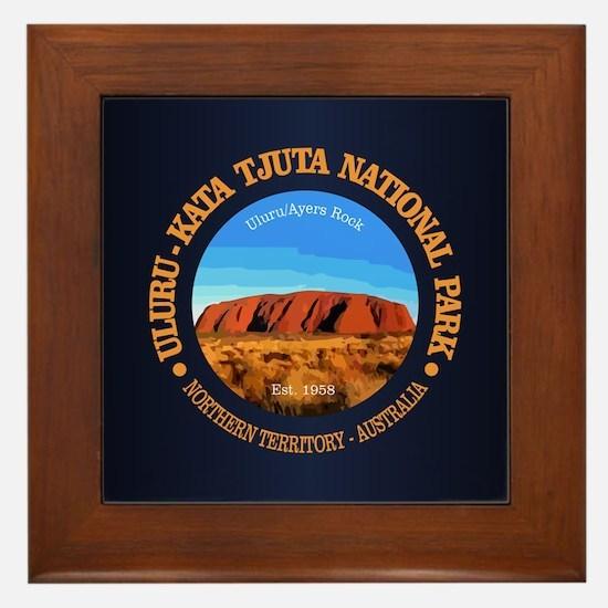 Uluru Framed Tile