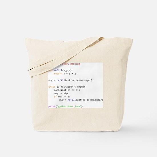 Cute Geek Tote Bag