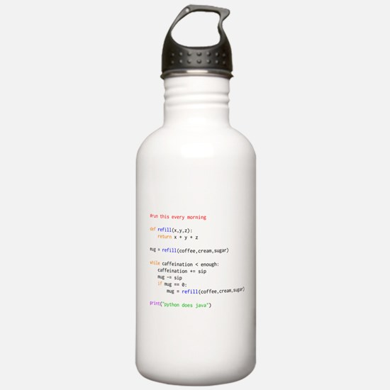 python does java Water Bottle