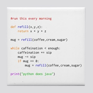 python does java Tile Coaster