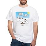 Snowscout Firebuilding White T-Shirt