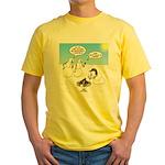 Snowscout Firebuilding Yellow T-Shirt