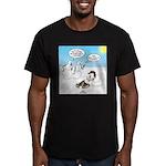 Snowscout Firebuilding Men's Fitted T-Shirt (dark)