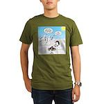 Snowscout Firebuildin Organic Men's T-Shirt (dark)