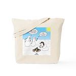 Snowscout Firebuilding Tote Bag