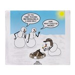 Snowscout Firebuilding Throw Blanket
