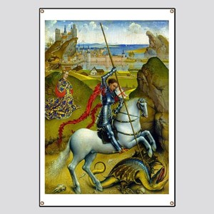 Saint George and The Dragon Banner